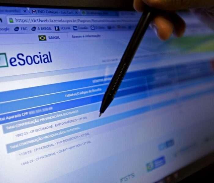 eSocial governo divulga alterações do programa